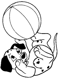 Small Picture 101 Dalmatians Coloring Pages