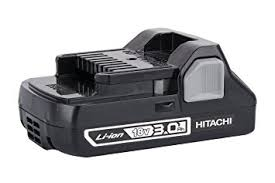 hitachi 6ah battery. hitachi 339782 compact 18v 3.0 amp hour lithium-ion slide style battery 6ah