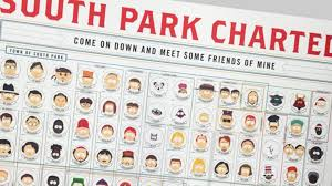 Cast Chart The Entire Cast Of South Park Categorized Mental Floss