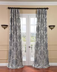 Silver Bedroom Curtains Bedroom Ivory And Blue Curtains Fabrics Magdelena Silver Blue