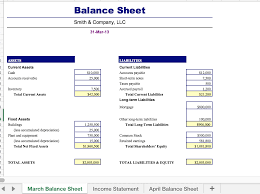 Solved Excel Income Statement Balance Sheet Create An I