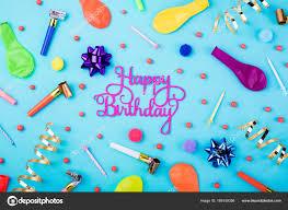 Birthday Streamer Decorations Happy Birthday Background