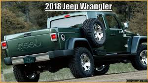 new 2018 jeep truck. plain truck 2018 jeep wrangler pickup and new jeep truck