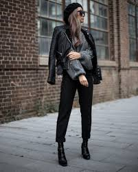 i knew my pearly zara sweater was going to be a hit on my instagram in fact this whole look is pretty much all zara except for the biker jacket and