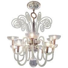 important vintage venini chandelier by carlo scarpa