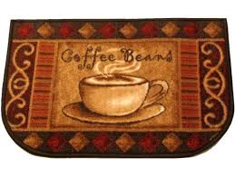 coffee cup kitchen rugs with print plus themed together striking rug photos