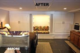 basement remodels before and after. Basement Renovations Before And After Photos Best Finishing Remodel Remodels R