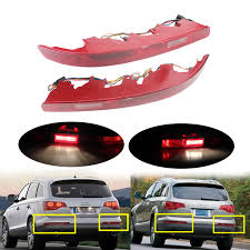 Audi Rear Light Bulb Us 99 99 Angrong For Audi Q7 4l Rear Bumper Reflector Tail Stop Brake Light Lamps Bulb Left Right In Car Light Assembly From Automobiles