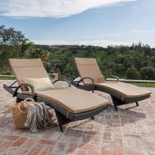 olivia patio furniture outdoor wicker chaise lounge chair