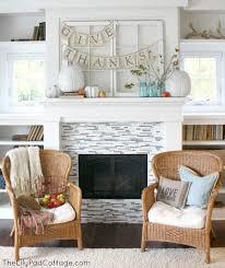 fall decorating ideas fireplace mantel 09 1 kindesign