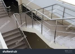 Modern Handrail modern ladder metal handrail stairway stock photo 130363241 5055 by xevi.us
