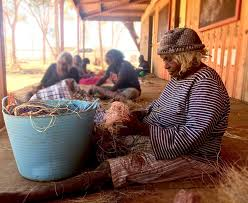 Ivy Hopkins is a Ngaanyatjarra woman... - Tjanpi Desert Weavers | Facebook
