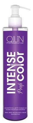 Shampoo for the gray-haired and clarified hair of <b>Ollin intense profi</b> ...