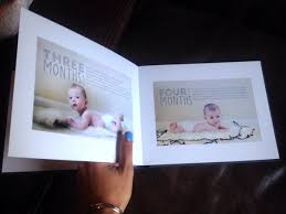 Baby Photo Album Books Baby Photo Book First Year Of Babys Life