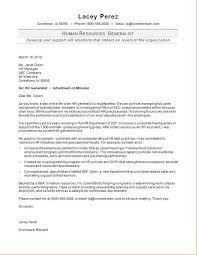 hr generalist cover letter sle
