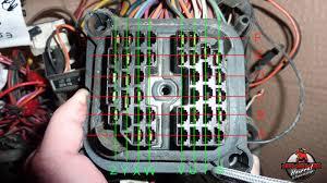cj laredo diesel restoration page com diesel firewall connector identification speedometer wire identifications