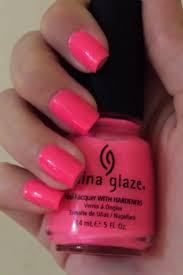 Růžový Neon Lak Na Nehty China Glaze