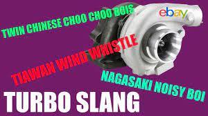 turbo slang turbo names