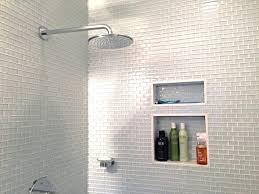 glass subway tile shower glass subway tile bathrooms by modern bathroom green glass subway tile shower