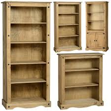 details about mexican pine corona bookcase bookshelf shelves free next day delivery
