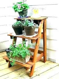 outdoor corner plant stand corner plant shelf outdoor corner plant stand outdoor plant shelf outdoor wooden