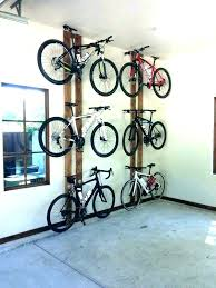 diy wall mount bike rack bike rack for garage s hanging floor storage ceiling diy wall mounted bicycle rack