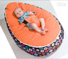 baby beanbags sofa chairs round seat sleeping bed portable washable suede short plush mix