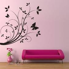 Floral Stencils For Painting | Different Kinds of Flower Wall Stencils to  Give Your House Makeovers
