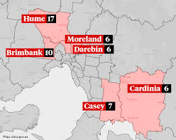 10 suburbs to undergo major testing blitz, including broadmeadows and keilor downs. State Border Openings In Jeopardy With Victorian Virus Hotspots In Spotlight
