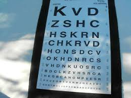 Details About Eye Chart For 10 Feet Test Distance