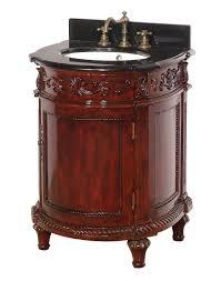 Antique Bathroom Cabinets Cherry Finish Antique Bathroom Vanity Dreamline Dlvbj 015ac Solid