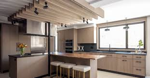 Light Wood Kitchen Cabinets Modern See How Light Wood Cabinets Transform A Dated Kitchen