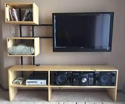 tv furniture ideas. Floating Custom TV Stand Ideas Tv Furniture