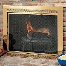 sentry premiere fireplace glass door