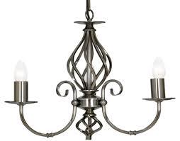oaks lighting tuscany 3 light ceiling light antique silver 3380 3
