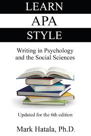 Learn Apa Style Writing In Psychology And The Social Sciences Mark