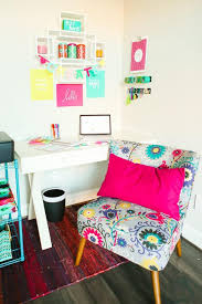 colorful home office. looking for creative office ideas this makeover is the perfect combination of neutral cute colorful home e