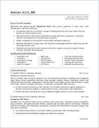 Sample Nursing Student Resume Resume Example
