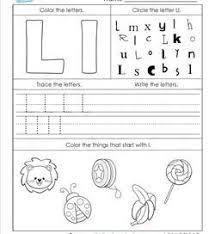 abc worksheets letter l 250x272