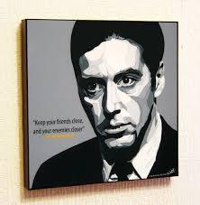 Amazoncom The Godfather Al Pacino Don Michael Corleone Poster Pop