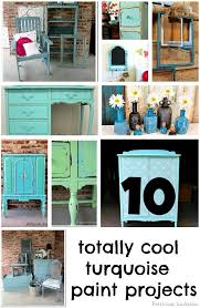 turquoise painted furniture ideas. 10 TOTALLY COOL TURQUOISE PAINT PROJECTS Turquoise Painted Furniture Ideas