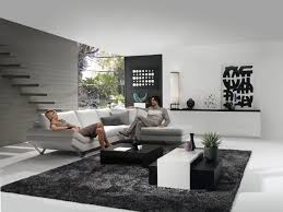 living room excellent black white and grey decoration