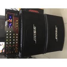 Trọn bộ dàn Karaoke gia đình PA Amply có đèn và loa Bo-se 450 (bát 25 ) hát  cực hay tốt giá rẻ