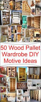 Best 25 Pallet Closet Ideas On Pinterest Pallet Wardrobe Diy