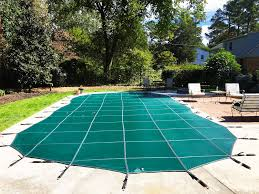 winter pool covers. Mesh Inground Winter Pool Covers: Which Is Better? Covers