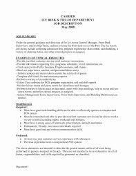 Job Description For Cashier For Resume Cashier Resume Examples Unique Mcdonalds Cashier Job Description 23