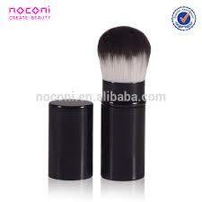 professional nylon hair makeup brush aluminum cosmetic powder brush