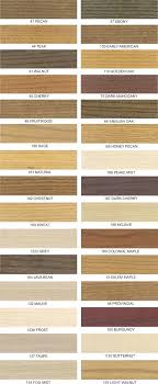 Interior Wood Stain Color Chart Pine Wood Stain Wood Stain Colour Chart Dulux