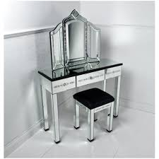 Vanity Table And Chair Set Bedroom Black Vanity Set With Zebra Bench Bed Bath And Beyond
