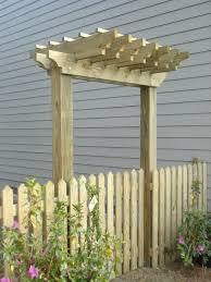 picket fence gate with arbor. Picket Fence Ideas For Instant Curb Appeal | Arbors, And Fences Gate With Arbor